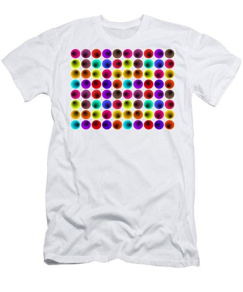 Hypnotized Optical Illusion Men's T-Shirt (Slim Fit) by Sumit Mehndiratta
