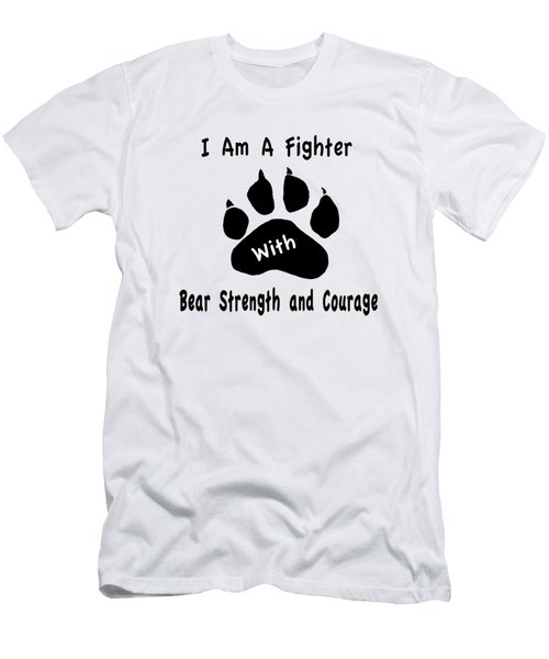 I Am A Fighter Men's T-Shirt (Athletic Fit)