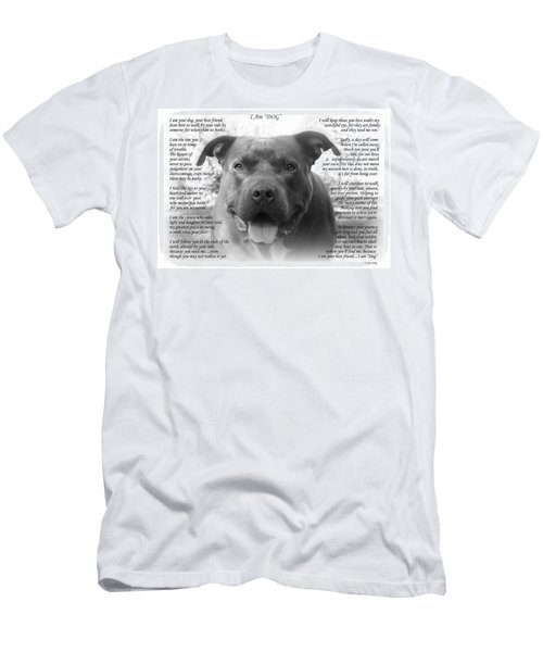 I Am Dog Men's T-Shirt (Athletic Fit)