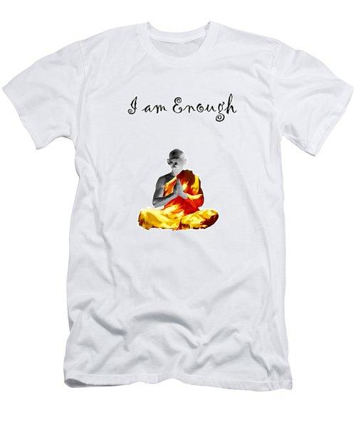 I Am Enough Men's T-Shirt (Athletic Fit)