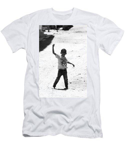 I Am The Champion  Men's T-Shirt (Slim Fit) by Jez C Self