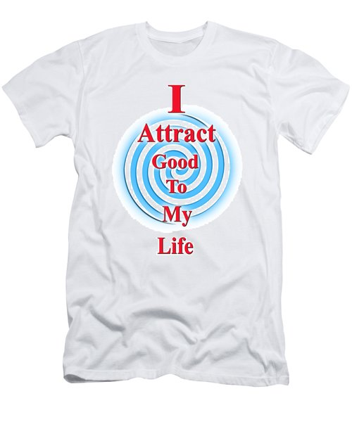 I Attract Red White Blue Men's T-Shirt (Athletic Fit)