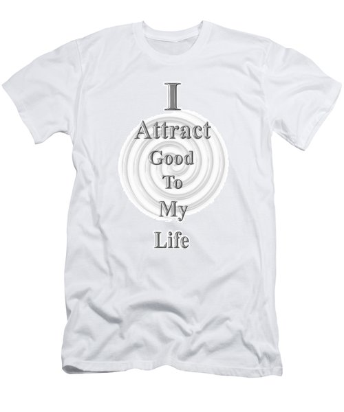 I Attract Silver Men's T-Shirt (Athletic Fit)