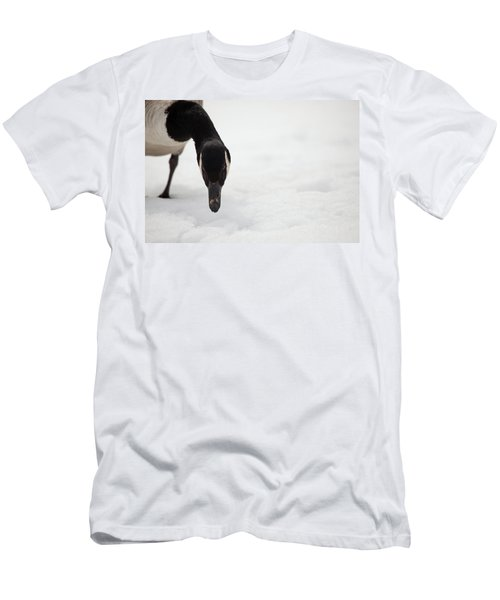 Men's T-Shirt (Slim Fit) featuring the photograph I Do See You by Karol Livote