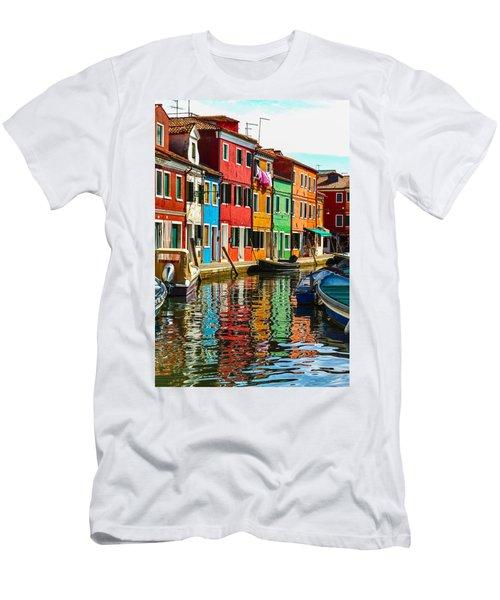 I Dream In Color Men's T-Shirt (Athletic Fit)