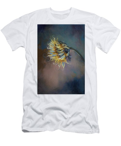I Feel Like A Sunflower Painting Men's T-Shirt (Athletic Fit)
