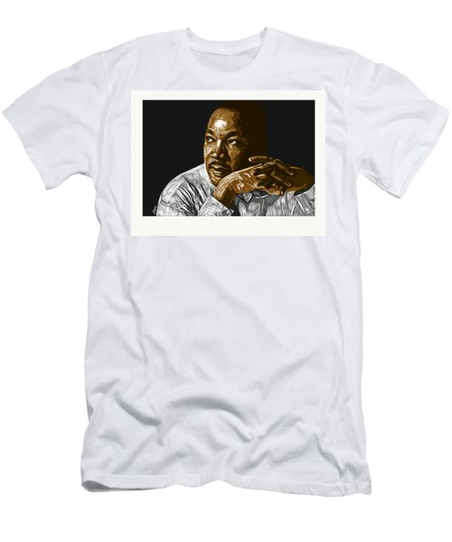 Men's T-Shirt (Athletic Fit) featuring the digital art I Have A Dream . . . by Antonio Romero