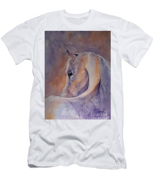 I Hear You - Painting Men's T-Shirt (Slim Fit) by Veronica Rickard