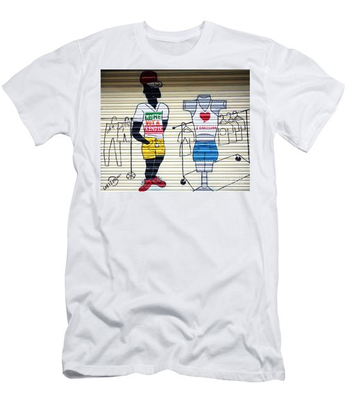 I Heart Barcelona Men's T-Shirt (Athletic Fit)