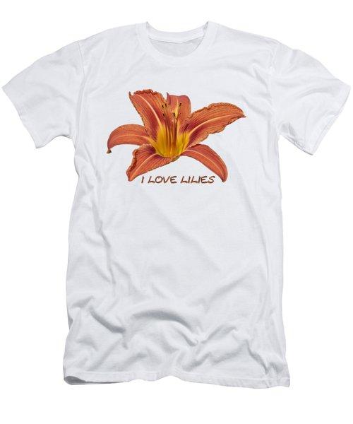 I Love Lilies 2018 Men's T-Shirt (Athletic Fit)