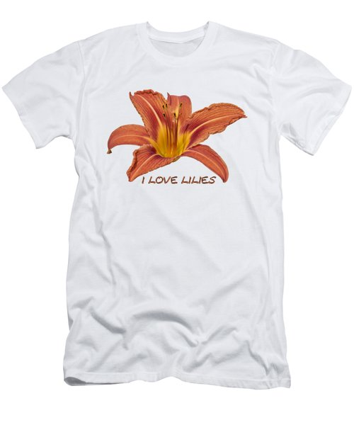 I Love Lilies 2018 Men's T-Shirt (Athletic Fit)