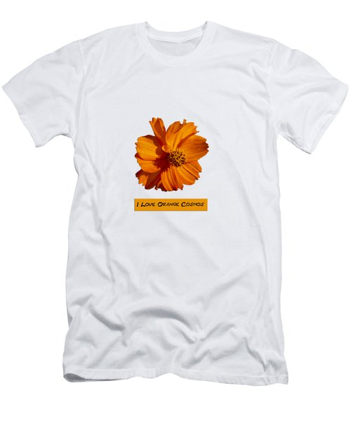 I Love Orange Cosmos 2018-1 Men's T-Shirt (Athletic Fit)