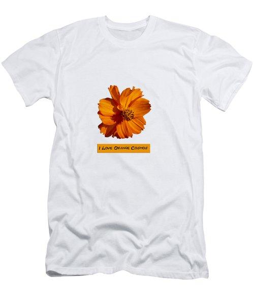 I Love Orange Cosmos 2018-1 Men's T-Shirt (Athletic Fit)