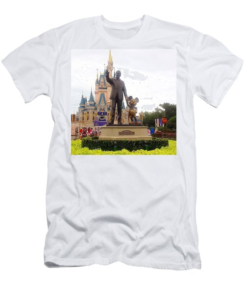 It All Started With A Mouse Men's T-Shirt (Athletic Fit)