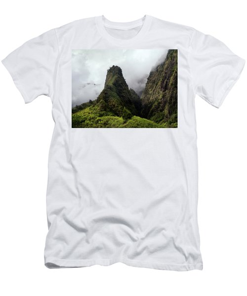Iao Needle Men's T-Shirt (Athletic Fit)