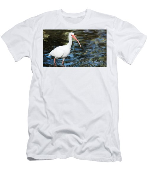 Ibis In The Swamp Men's T-Shirt (Athletic Fit)