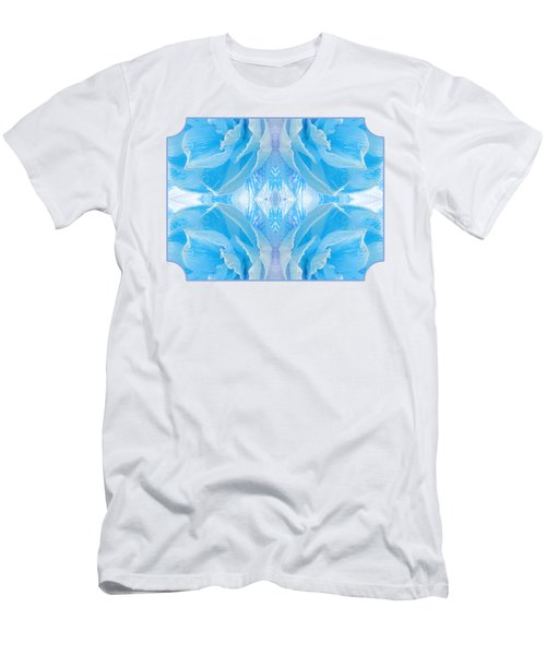 Ice Cool Blue Men's T-Shirt (Athletic Fit)