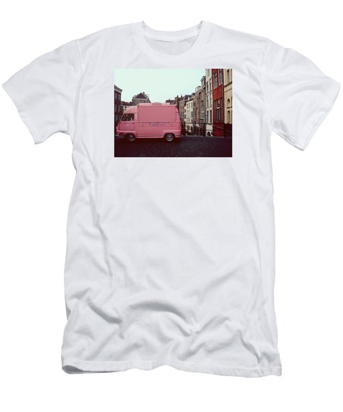 Ice Cream Car Men's T-Shirt (Athletic Fit)