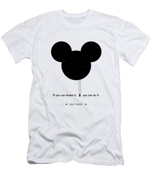 If You Can Dream It, You Can Do It. - Walt Disney Men's T-Shirt (Athletic Fit)