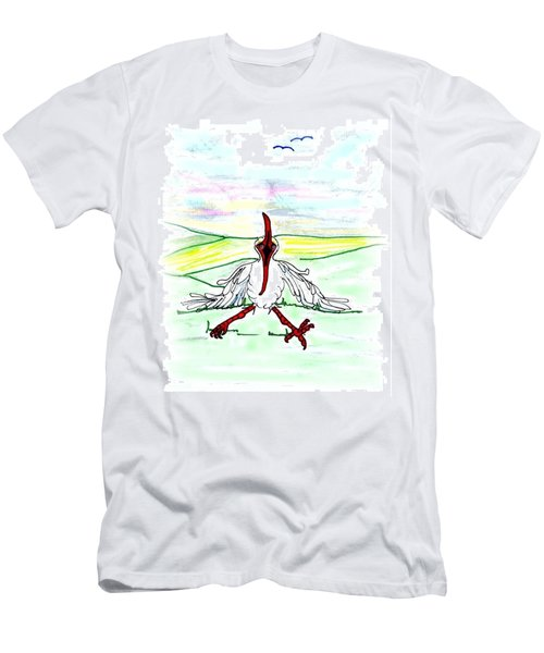 I'll Never Fly Again Men's T-Shirt (Athletic Fit)