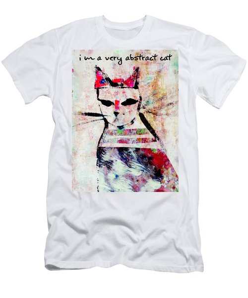 I'm A Very Abstract Cat Men's T-Shirt (Athletic Fit)