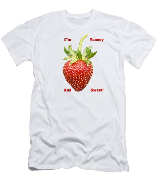 Im Yummy And Sweet Men's T-Shirt (Athletic Fit)