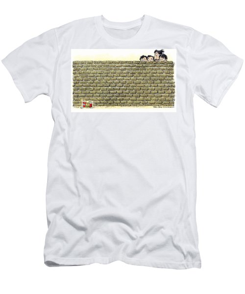 Immigrant Kids At The Border Men's T-Shirt (Athletic Fit)