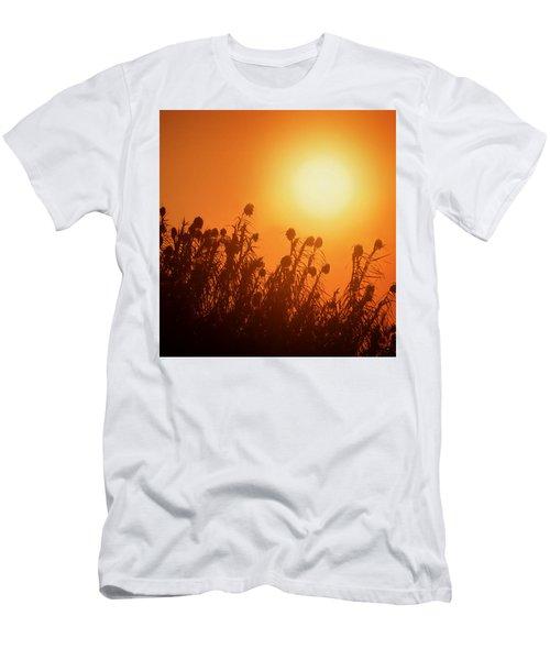 Impalila Island Sunset No. 3 Men's T-Shirt (Slim Fit) by Joe Bonita
