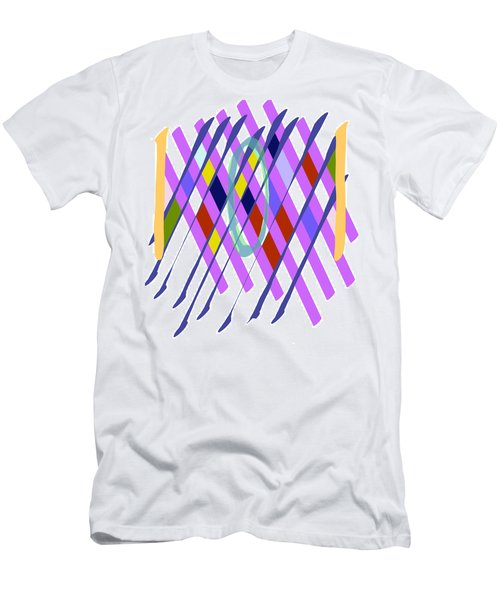 Improvised Geometry #1 Men's T-Shirt (Athletic Fit)