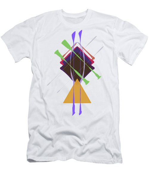 Improvised Geometry #3 Men's T-Shirt (Athletic Fit)