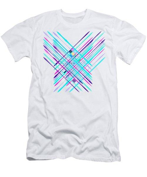 Improvised Geometry #2 Men's T-Shirt (Athletic Fit)