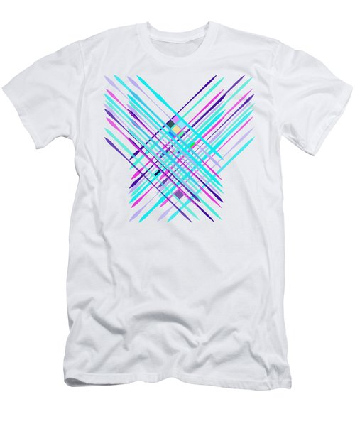 Improvised Geometry #2 Men's T-Shirt (Athletic Fit)