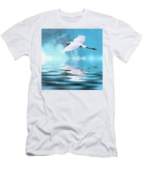 In Flight Men's T-Shirt (Slim Fit) by Cyndy Doty