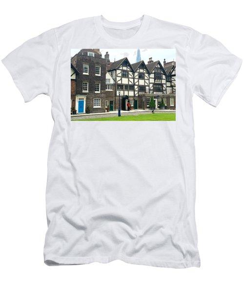 In London Men's T-Shirt (Slim Fit) by Nancy Ann Healy