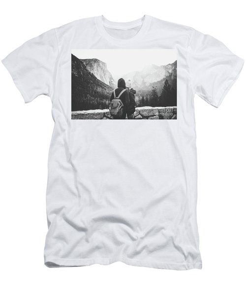 Yosemite Love Men's T-Shirt (Slim Fit) by JR Photography