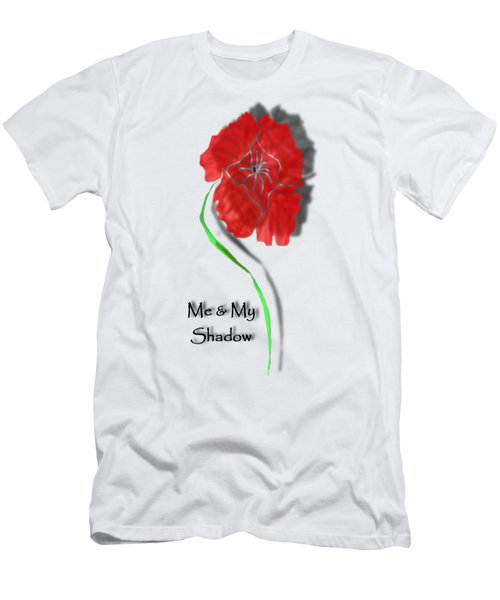In Remembrance Poppy Men's T-Shirt (Slim Fit) by Barbara St Jean