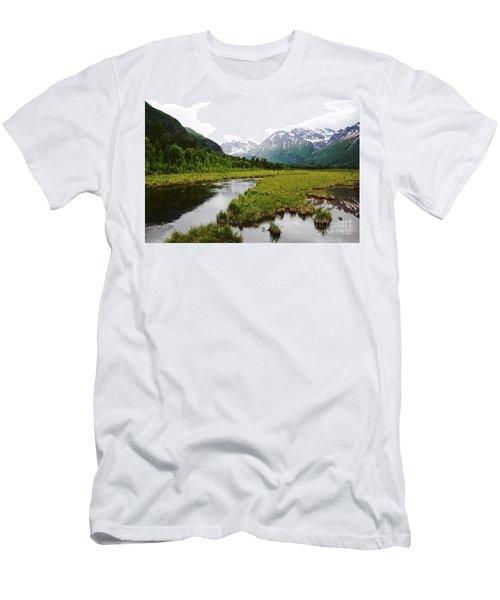 In Road To Denali Men's T-Shirt (Athletic Fit)
