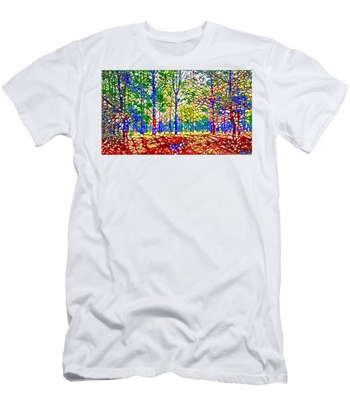 In Spite Off The Trees Men's T-Shirt (Athletic Fit)