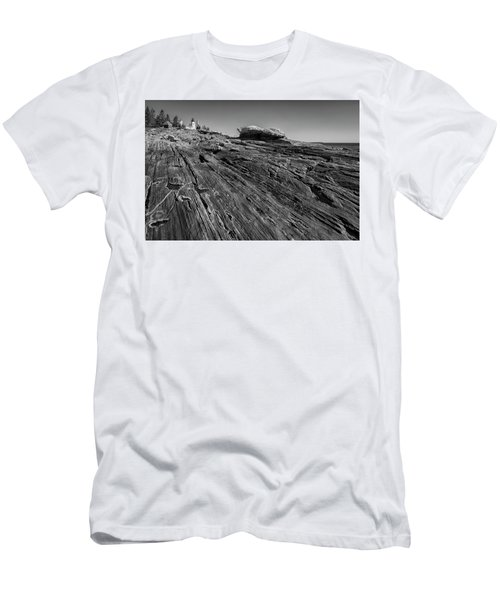 In The Distance Men's T-Shirt (Slim Fit) by David Cote