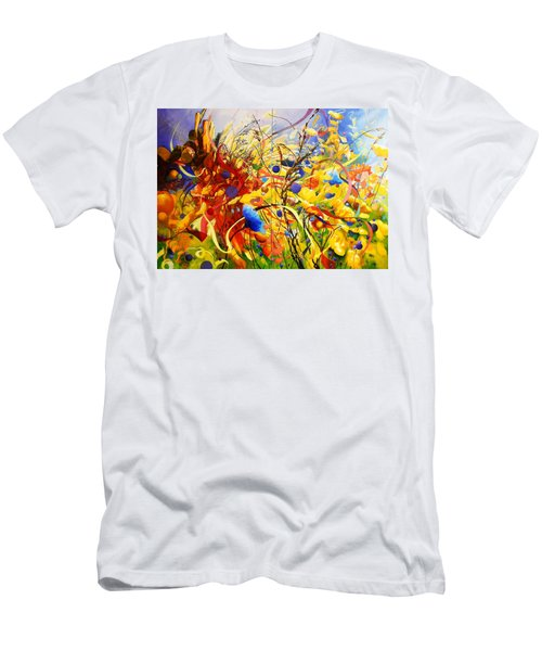 In The Meadow Men's T-Shirt (Slim Fit) by Georg Douglas