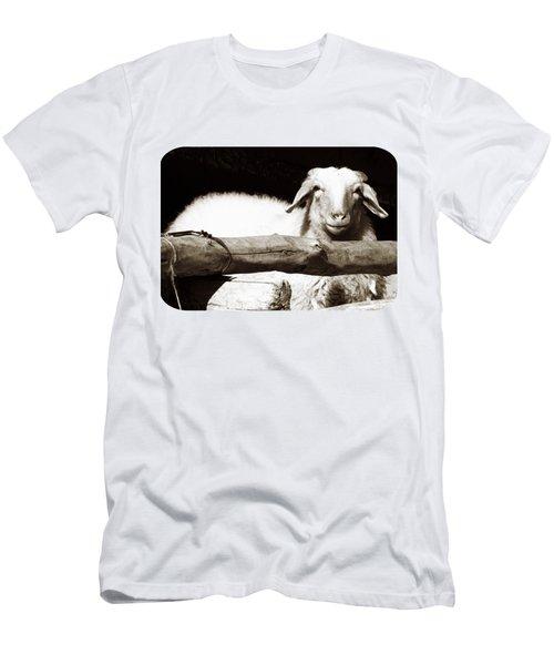 In The Pen Men's T-Shirt (Slim Fit) by Ethna Gillespie