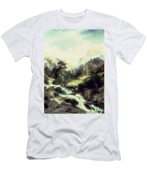 In The Teton Range Men's T-Shirt (Athletic Fit)