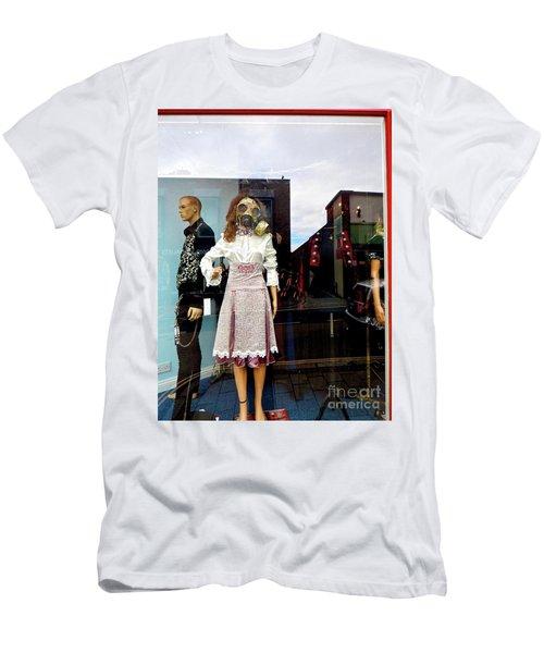 In The Window  Men's T-Shirt (Slim Fit) by Gary Bridger