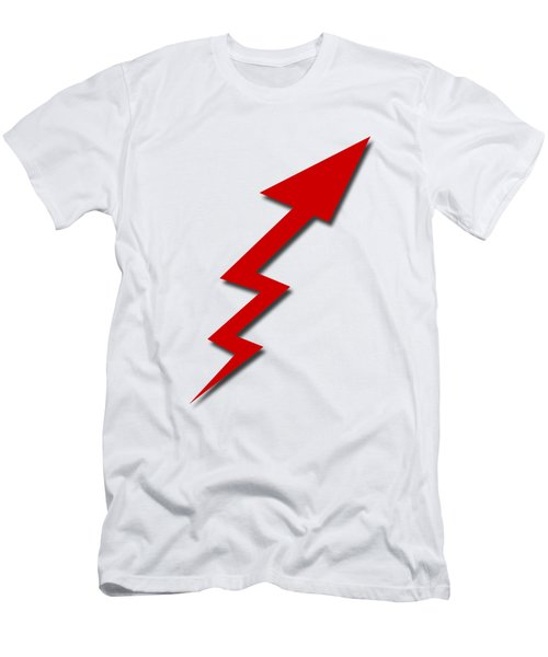 Increase Arrow Men's T-Shirt (Athletic Fit)