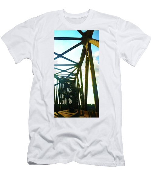 Men's T-Shirt (Slim Fit) featuring the photograph Indefinite Sight by Jamie Lynn