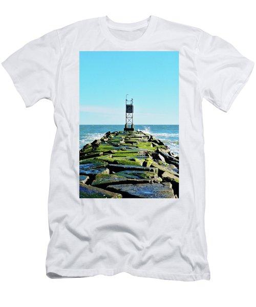 Indian River Inlet Men's T-Shirt (Slim Fit) by William Bartholomew
