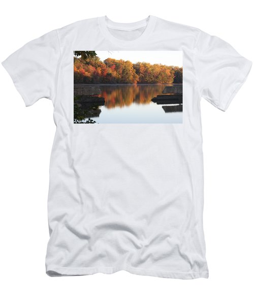 Men's T-Shirt (Athletic Fit) featuring the photograph Indian Summer by Vadim Levin