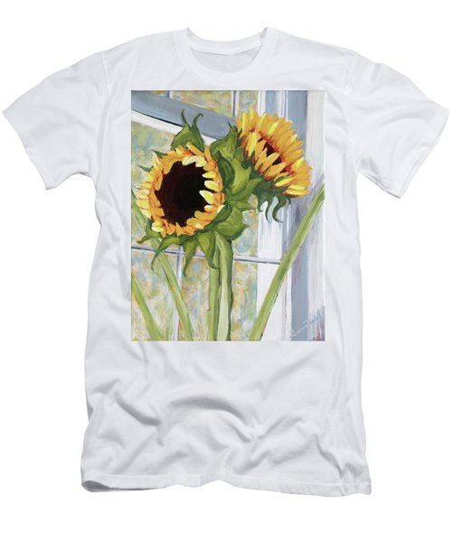Indoor Sunflowers II Men's T-Shirt (Athletic Fit)