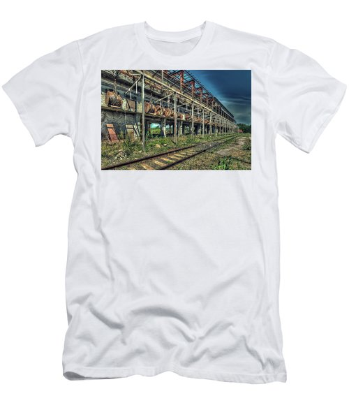 Industrial Archeology Railway Silos - Archeologia Industriale Silos Ferrovia Men's T-Shirt (Athletic Fit)