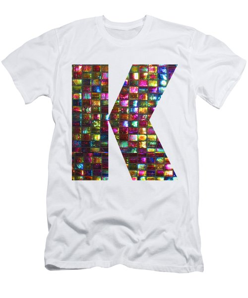 Initial Identity K Kk Kkk Alpha Alphabet Decorations Signature At By Navinjoshi From Canada At Fine Men's T-Shirt (Athletic Fit)
